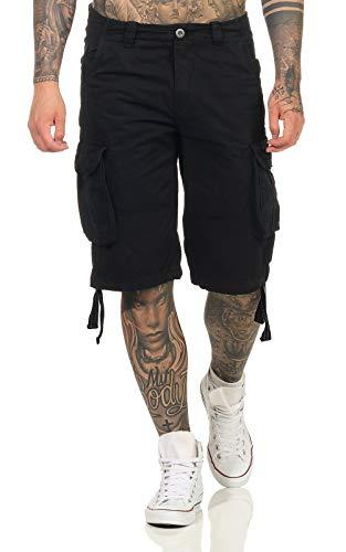 Alpha Industries Hombres Pantalones Cortos Jet