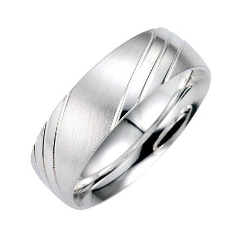 Bruno Banani Unisex-Ring Sterling-Silber Gr.66 49/91011