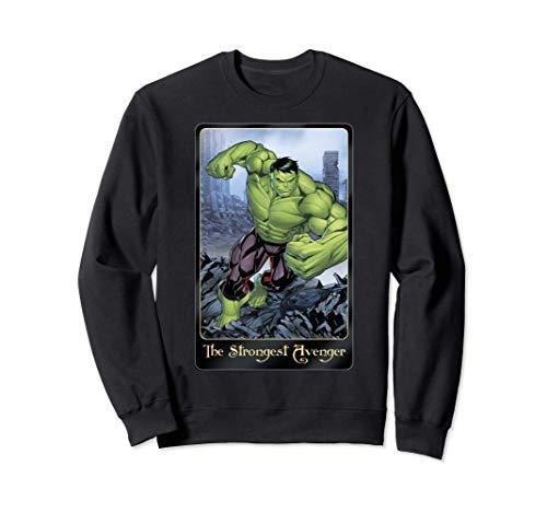 Marvel Strongest Avenger Incredible Hulk Sudadera