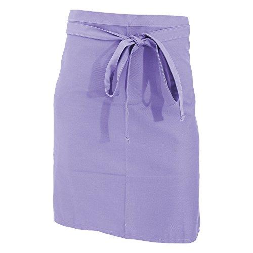 Jassz Bistro Unisex Bistro-Schürze/Bar-Schürze, kurz (Einheitsgröße) (Lavendel)