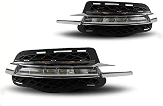 Generic Daytime Running Lights LED Assembly Fog Driving Lamp Cover for Mercedes Benz C Class W204 C180 C200 C250 C260 C300 1 Set