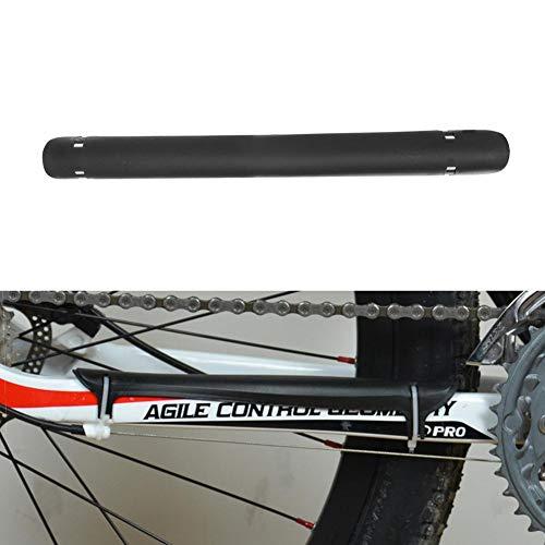 Demiawaking Paracatena Bicicletta Protezione Catena Bici in Plastica Protezione Telaio Bicicletta MTB Bici da Strada (Nero)