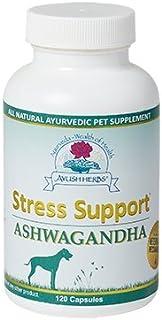 Ayush Herbs - Stress Support Pet Ashwagandha Vet 120 Capsules
