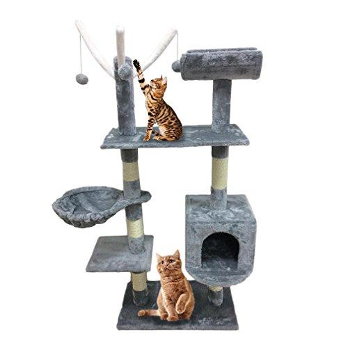 Homgrace Rascador para Gatos | Arbol para Gatos | Rascadores