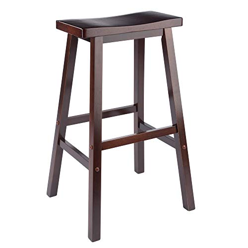 Winsome 94089 Satori Stool, 29', Walnut