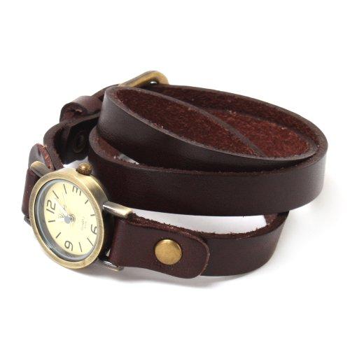 YESURPRISE 043106–Uhr, Leder-Armband