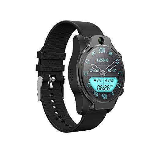 docooler Smartwatch 4G LTE GPS Orologio 3 GB + 32 GB 1360 mAh Face Unlock IP68 Impermeabile 9 modalità Sport Activity Tracker Pedometro Cardiofrequenzimetro per iOS Android