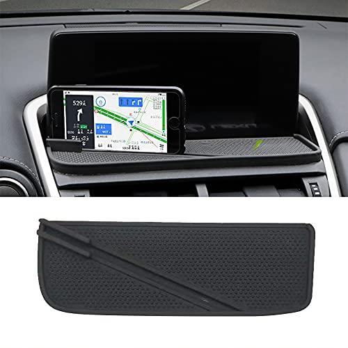 BBQ@FUKA Updated Car Dashboard Phone GPS Navigation Anti-Slip Mat Pads Phone Mount Non-Slide Silicone Rubber Mat Fit for Lexus NX200 NX300 NX300h 2018 2019 2020 2021