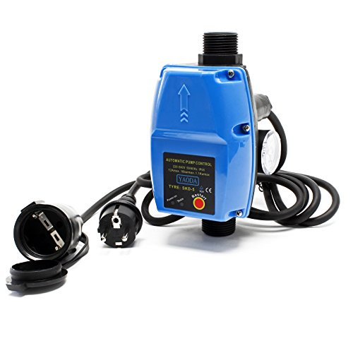 Druckschalter mit Kabel SKD-5 230V 1-phasig Pumpensteuerung Druckwächter für Hauswasserwerk Brunnen