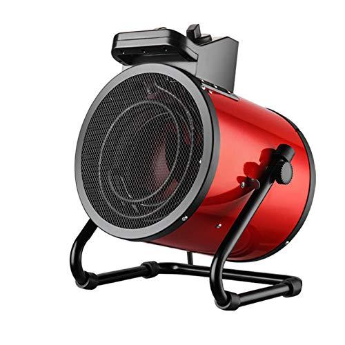 Calentador De Ventilador Industrial con 3 Engranajes 9000w,Ajustable De 45 /Tubo De Calentamiento De AleacióN De Acero Inoxidable,Ahorro De EnergíA, Ideal para Talleres Que CríAn,Red