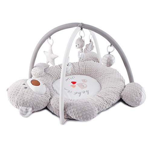 Couverture De Jeu d'ours De Musique De Bébé Baby Gym Tapis Rampant Portable Jouets Éducatifs Joli Nid De Bébé Bille De Massage 3D 0-2 Ans
