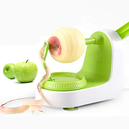KNDJSPR Pelatrice Pera Pera Veloce, Peeling per 5 Secondi, Verde, Taglio di Frutta, Forniture per la casa pigra, Regalo per Utensili da Cucina