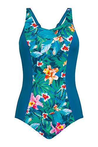Amoena Women's Mauritius Full Bodice Pocketed Mastectomy Swimsuit, Multi, 10D