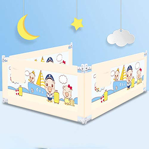 Purchase Wagsuyun Bed Bolster Crib Fence Vertical Lifting Bed Rails for Toddlers Bed Guardrail Extra...