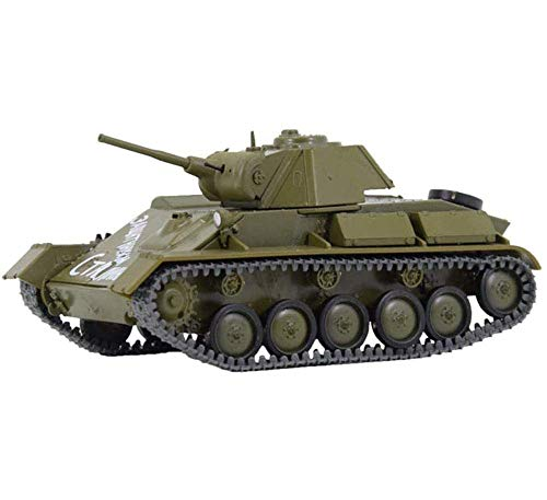 Yxxc Model Building 1:43 Scale Diecast Tank Metal Model, T-70 Light Tank USSR, Military Toys and Gifts, 3.9Inch X 2.2Inch