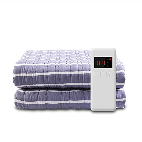 Manta eléctrica debajo de la manta, manta eléctrica calefactada sobre colchón cálido...