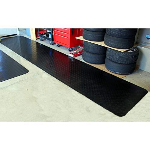 Mats Inc. Coverguard Mats, 3' x 15', Black