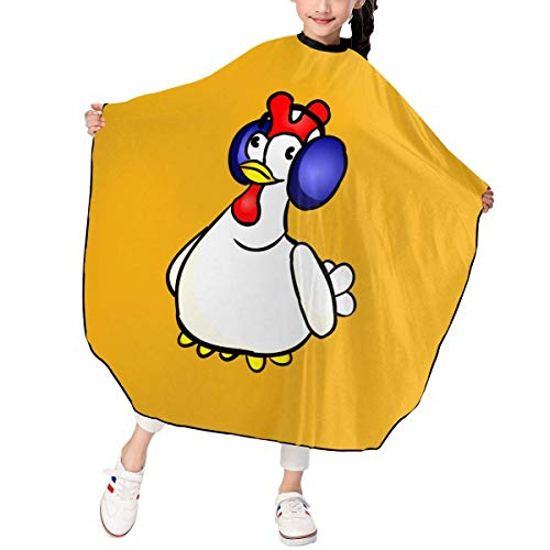 Children Kids Haircut Barber Cape Cover For Hair Cutting Hay Day Chicken Game