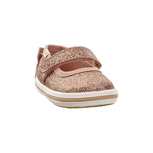 Keds Girls Sloane MJ Crib x Kate Spade New York (Infant) Casual Sneakers, Gold, 2