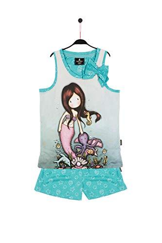 SANTORO LONDON - Pijama Gorguss Sirena Santoro niña Niñas Color: Oceano Talla: 12