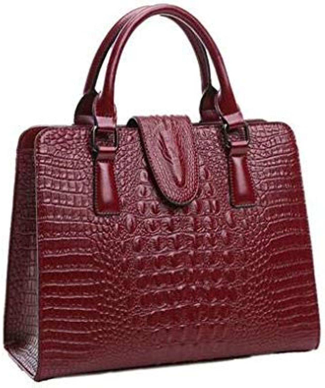 Designer Handbags high Quality Genuine Leather Bag Famous Brand Shoulder Bags 2017 Luxury Women Hand Bags sac a Main Burgundy