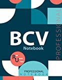 "BCV Notebook, Examination Preparation Notebook, Study writing notebook, Office writing notebook, 140 pages, 8.5"" x 11"", Glossy cover"