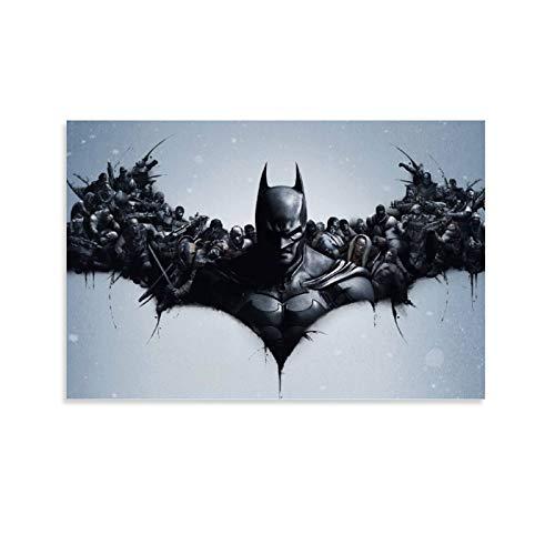SSKJTC Dekoration für Wohnzimmer, Badezimmer, Batman, Arkham Origins, Bilder, Kunsthandwerk für Zuhause,...