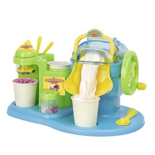 Qué divertido! Ahora tú y tus amigos podréis hacer vuestros propios helados en casa. Es fácil y divertido, no necesita ni pilas, ni enchufes... Solo hielo e ingredientes. En unos minutos... ¡ya puedes comer tu helado! Incluye accesorios e instruccion...