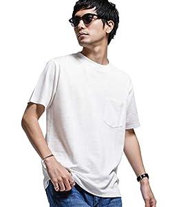 [ナノユニバース] Tシャツ keep shape jersy クルーネック メンズ