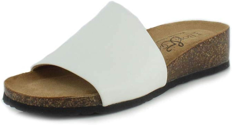 Bos. & Co. Womens Lux Slide Sandal