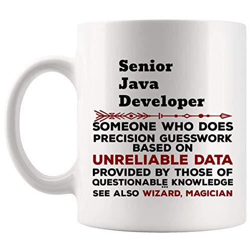 El mayor divertido Java Developer taza del regalo - 11oz taza de café - mejores regalos para hombres camiseta de las mujeres tazas de las tazas
