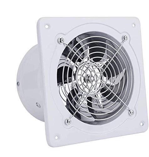 Fashio Scarico Ventilatore con Il riflusso Flap Ø 150 mm / 15 cm for Bagno e Cucina, Low Energy Consumo 40W, Funzionamento Silenzioso e ad Alta efficienza 780 m3 / h