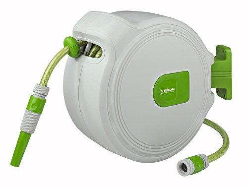 automatik Schlauchtrommel Gartenschlauch Schlauchwagen Schlauch-Aufroller