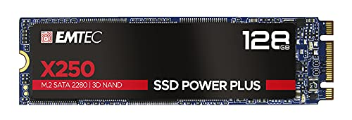 EMTEC SSD M2 SATA x250 128 GB Power Plus 3D NAND