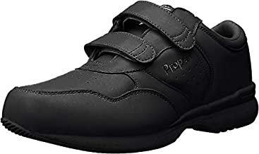 Propet Men's Life Walker Strap Sneaker Black 13 XX-Wide 5E