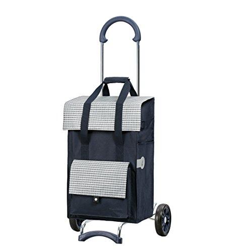 Andersen Sondermodell Einkaufstrolley Scala und 49 Liter Tasche Milla blau