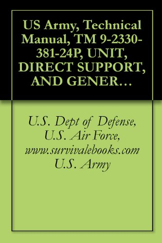 US Army, Technical Manual, TM 9-2330-381-24P, UNIT, DIRECT SUPPORT, AND GENERAL SUPPORT MAINTENANCE REPAIR PARTS AND SPECIAL TOOLS LIST FOR HEAVY EQUIPMENT (English Edition)