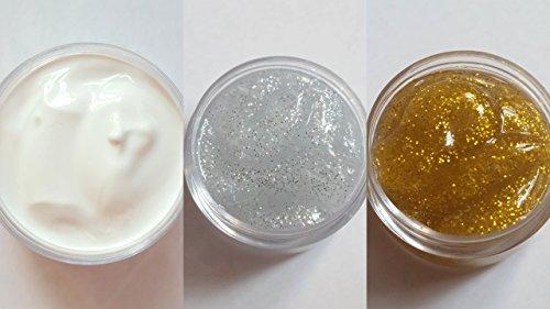 NEW Nail Art Set 3 x acrylique manucure design, döschen 10 ml, couleurs, blanc argent or, Set pour One Stroke Accessoires Fleurs Artificielles