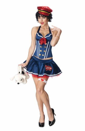 Betty Boop Sailor Corset Costume