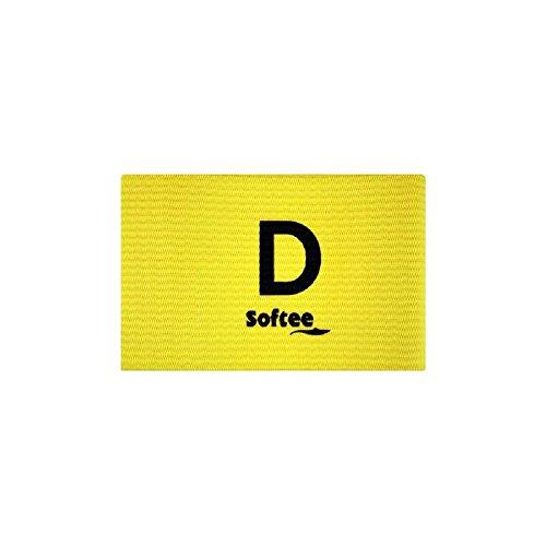 Softee 76676.019 Brazalete Distintivo Delegado, Blanco, S
