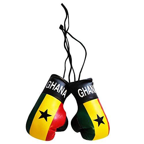 Ghana Mini-Boxhandschuhe für Auto oder Zuhause