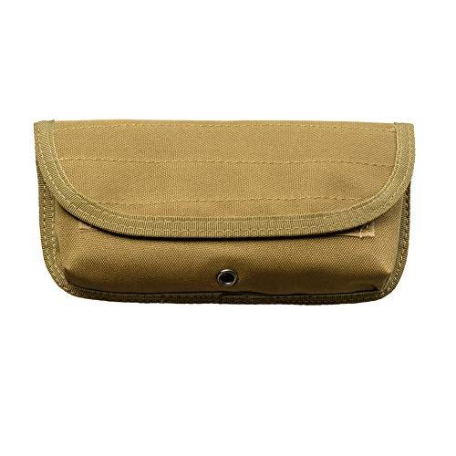 Bolsa de nailon Molle, bolsa de revista EDC Tools, bolsa de accesorios al aire libre, soporte de cartucho redondo para airsoft combate caza