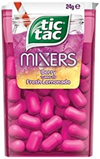 Tic Tac Mixers Berry Turn To Lemonade 24g x 24