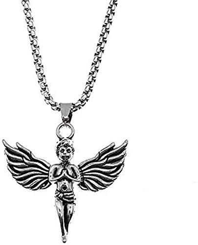 WYDSFWL Collar Dama ángel Collar