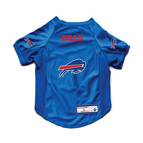 Littlearth NFL Buffalo Bills Pet JerseyJersey Stretch, Team Color, Big Dog, 320156-BILL-BIG