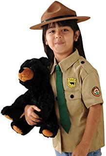 Park Ranger Outfit for Kids Pretend Play Including a Stuffed Bear