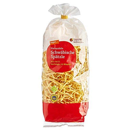 tegut... Eiernudeln Schwäbische Spätzle, 500 g