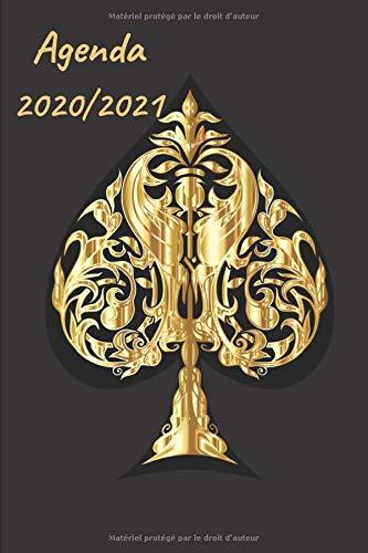 AGENDA SCOLAIRE 2020 2021: Un Agenda Scolaire 2020 2021   Agenda journalier   Emploi du temps   Calendrier   (Français) Broché