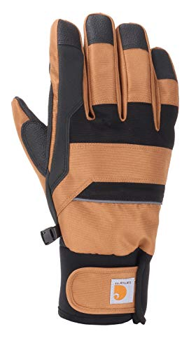 Carhartt Flexer Glove Guantes para clima fro, Marrón/Negro, XXL para Hombre