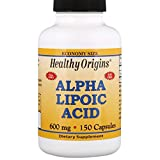 Healthy Origins, Ácido Alfa Lipoico, 600 mg, 150 cápsulas, sin gluten